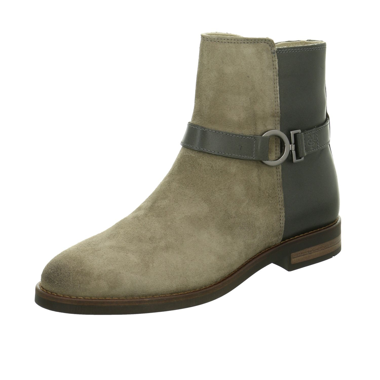 Schuhe24 Damen Stiefeletten von marco tozzi blau,braun,grau,rot ... 77c7b75334
