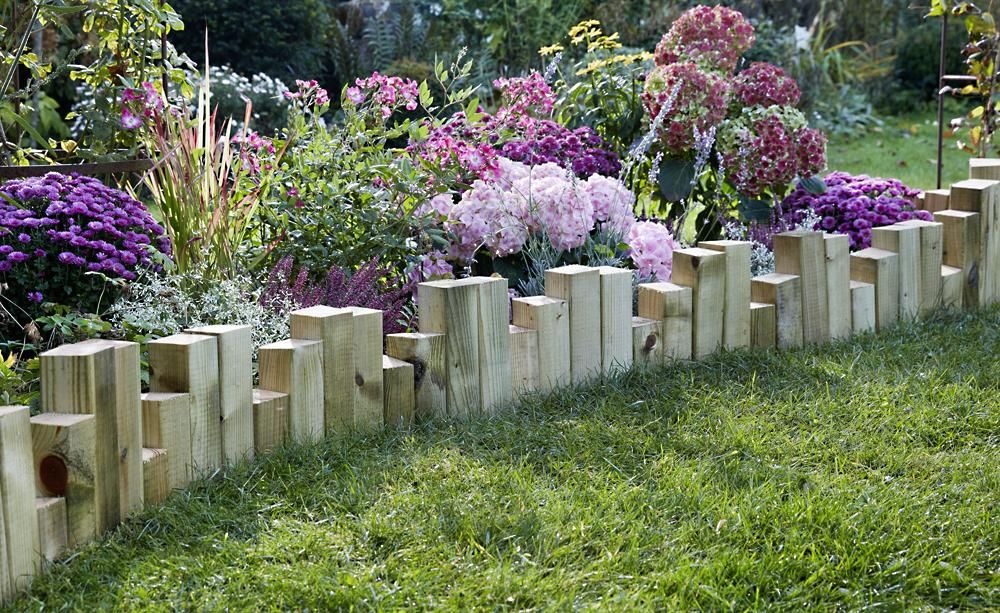 beeteinfassung - material, anlegen und tipps, Garten und Bauen
