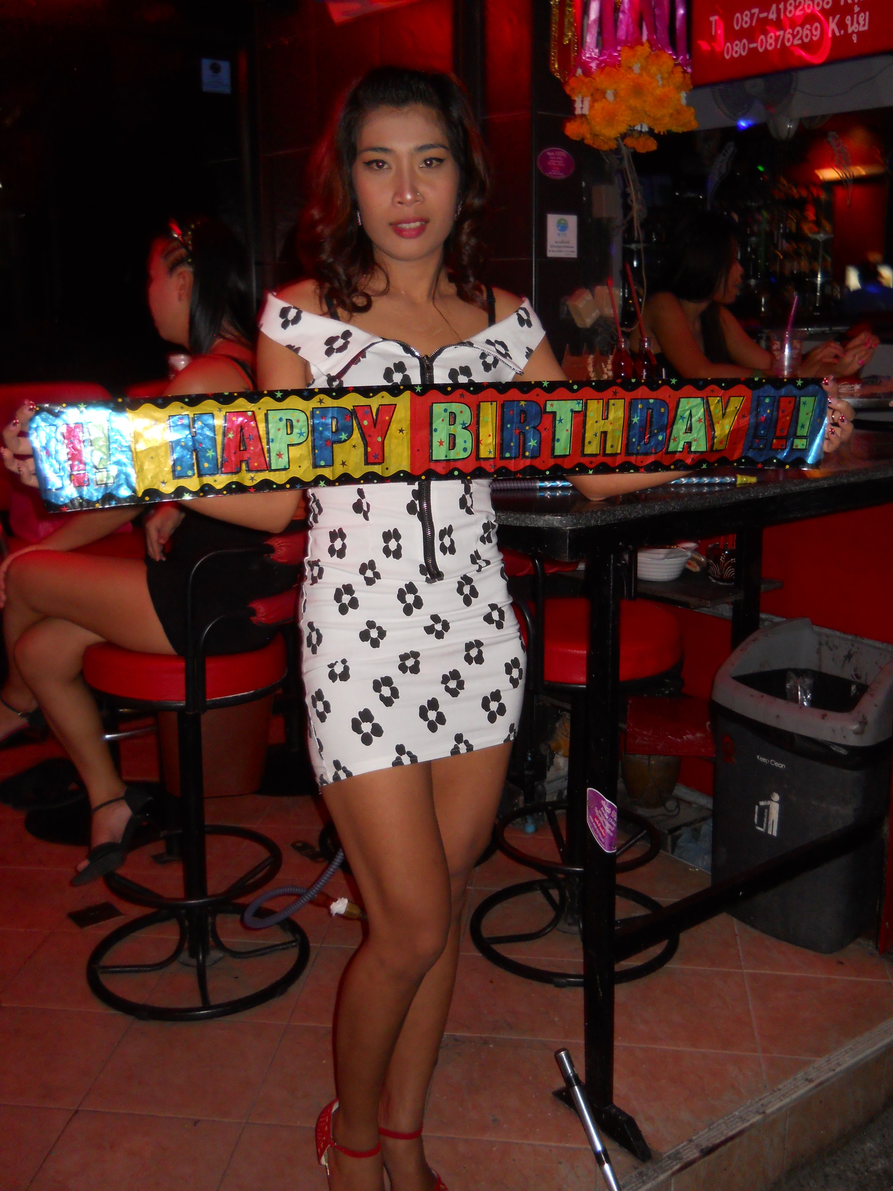 Soi 6 Pattaya Bar Girl | Happy Birthday from Bangkok's ...