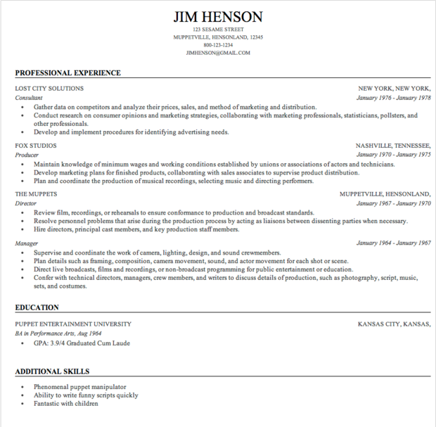 the best free resume builder