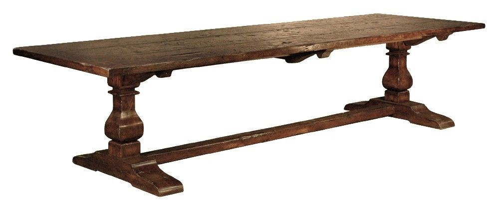 Long Dining Table from Antique Timbers 11\' 11ft Eleven Feet ...