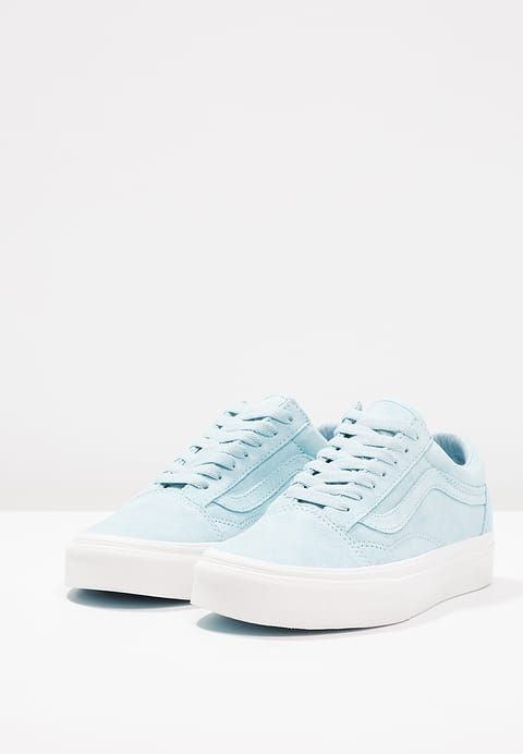 vans damen old skool sneakers blau