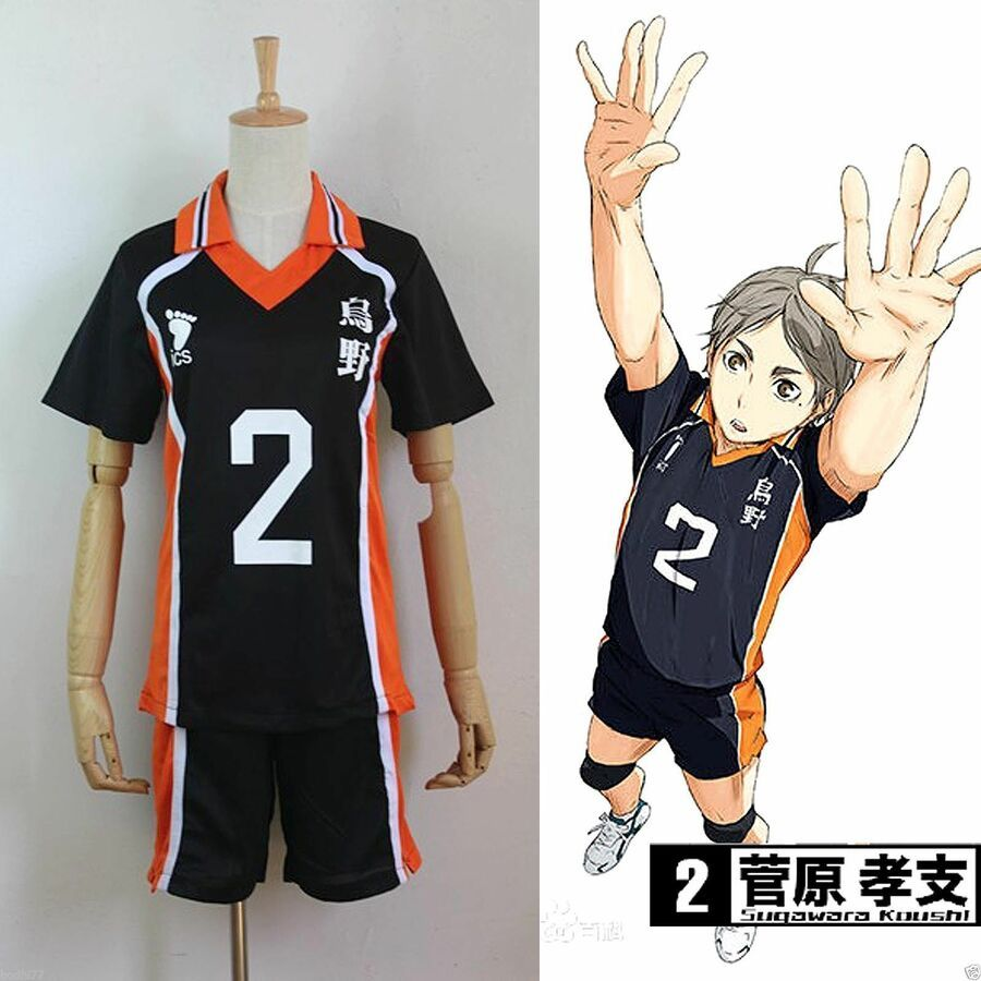 Haikyuu Hot Karasuno High School Uniform Volleyball Jersey Costume Cosplay 1 12 Affiliate High School Karasuno High School Uniform Haikyuu Karasuno