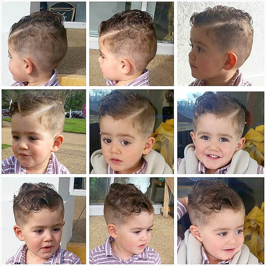 Lucas Antonio On Instagram This 2 Year Old Did So Well During His Haircut It Came Out Perfect Hairsty Baby Boy Haircuts Boys Haircuts Boys First Haircut