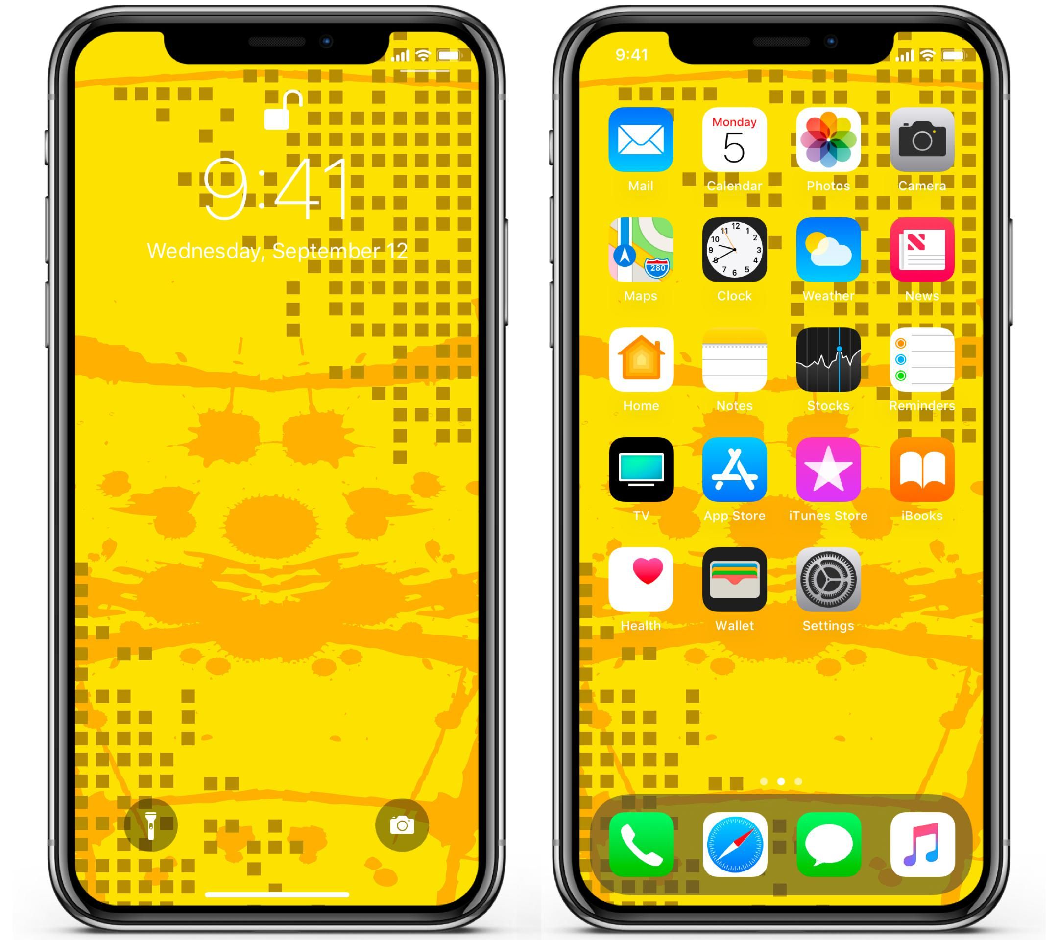 Wallpaper Day Spots Pattern Yellow Cubes Background For Hd 4k Wallpaperday For Desktop Mobile Phones Free Download In 2020 Wallpaper Mobile Phone Cube