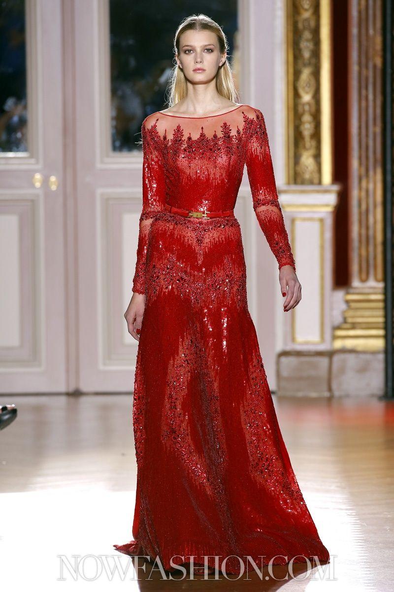Zuhair murad couture fall winter paris nowfashion wedding