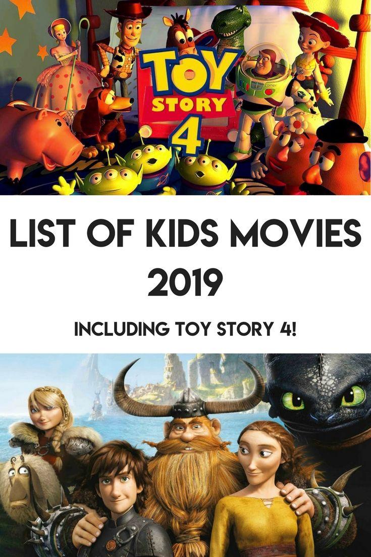 The BIG List Of Kids Movies 2019 disney movies