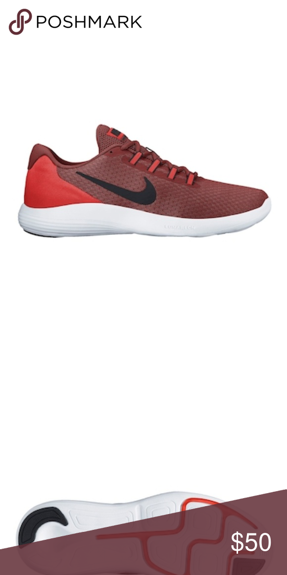 new styles 7f320 1d55e The Nike Lunar Converge Men s Running Shoe BRAND NEW IN BOX- Running -  Round toe with bumper - Breathable mesh upper - Lace-up closure - Padded  tongue, ...