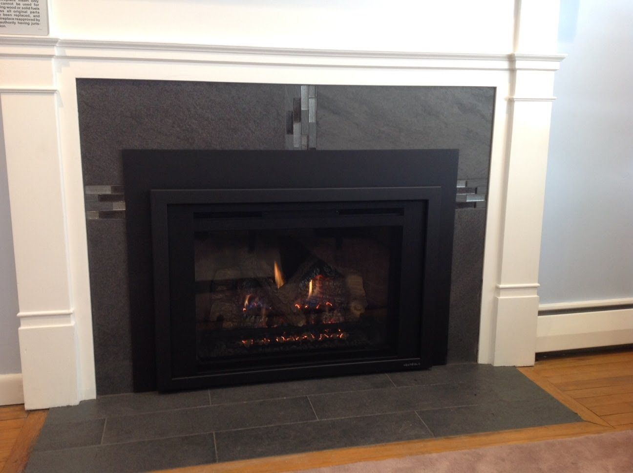 How To Reface A Fireplace For A Gas Insert Reface Fireplace Gas