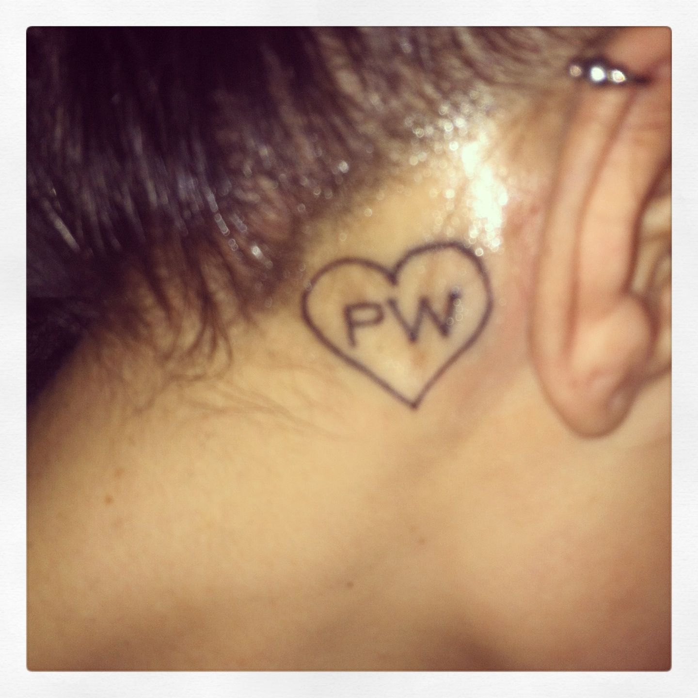 In memory of paul walker for Fast and furious tattoo