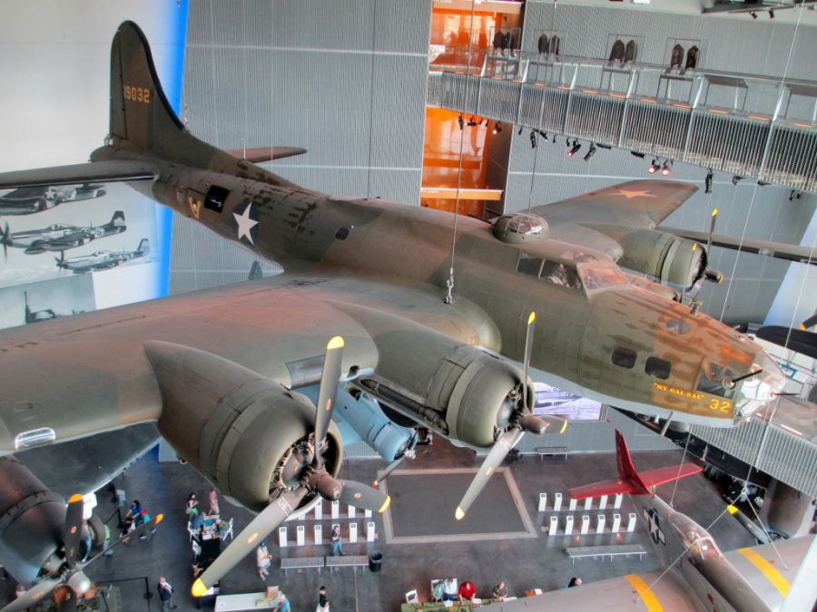 B-17E Flying Fortress My Gal Sal National WW2 Museum New Orleans
