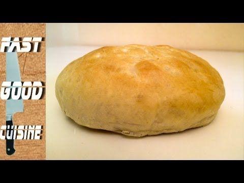 comment faire du pain kebab ou pita fastgoodcuisine pains viennoiseries pinterest. Black Bedroom Furniture Sets. Home Design Ideas