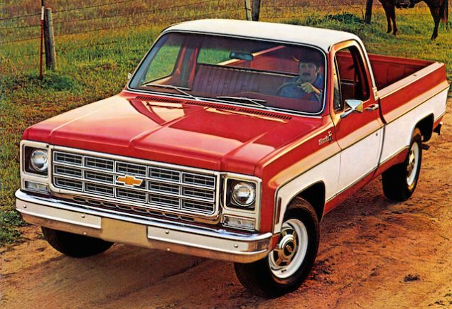 the ten most useless trucks ever built 72 chevy truck chevrolet and chevy pickups. Black Bedroom Furniture Sets. Home Design Ideas