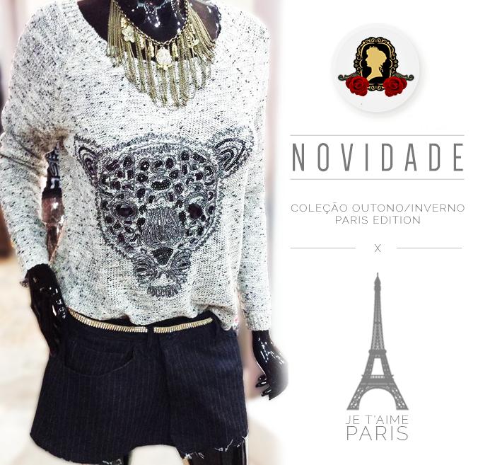 Nada melhor do que um look super fashion para começar bem a semana.  #Look #Fashion #MariaHenriqueta #ParisEdition