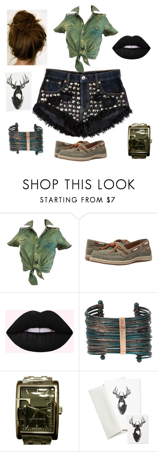 """""""Untitled #438"""" by yasm-ina ❤ liked on Polyvore featuring Balenciaga, Sperry, Boutique+, La Fontaine & Co. and Tattly"""