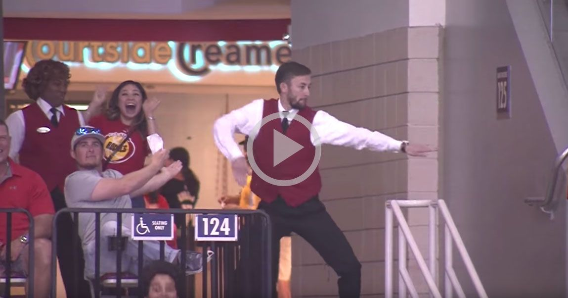 Rockettes' Pick for Dancer of the Week Usher at the