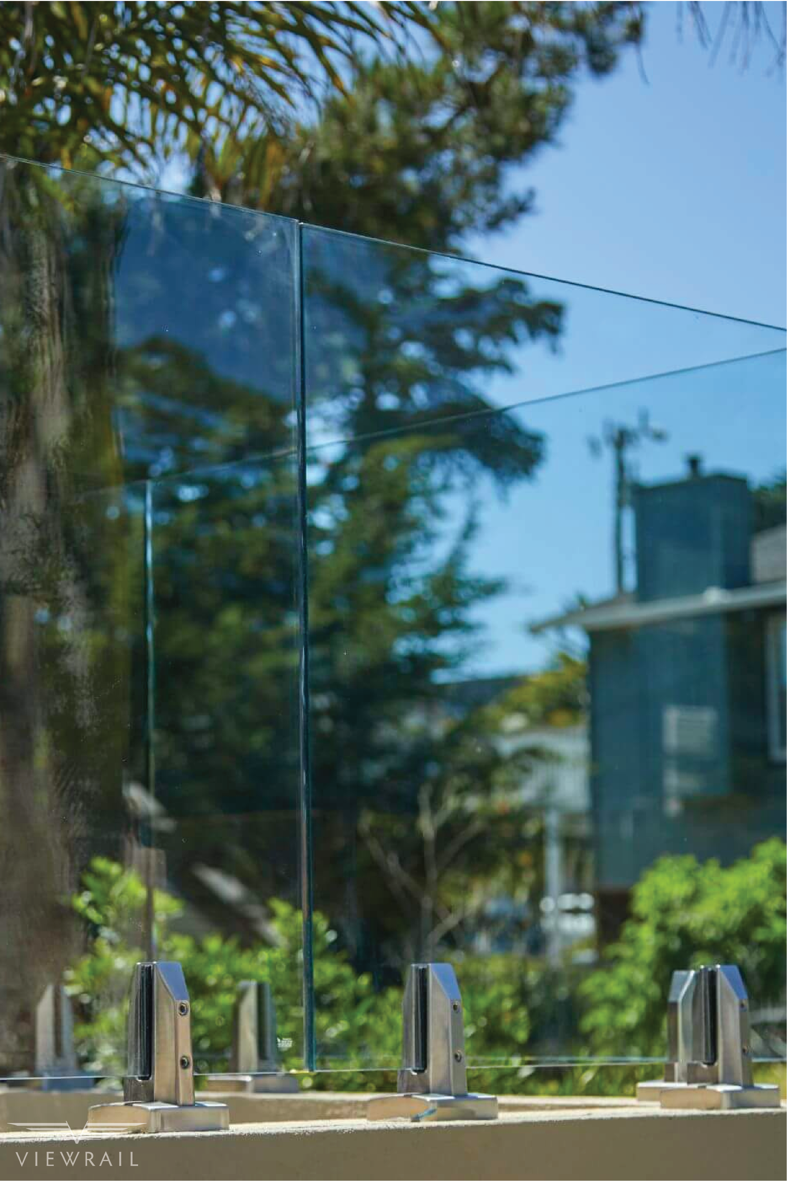 Glass Talon Spigots Viewrail Glass Railing Glass Stairs Glass Railing Deck