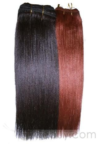 22inches Yaki Indian Human Hair Weft Red : Tidebuy.com