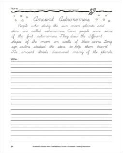 ancient astronomers writing a passage in cursive make it cursive cursive handwriting. Black Bedroom Furniture Sets. Home Design Ideas