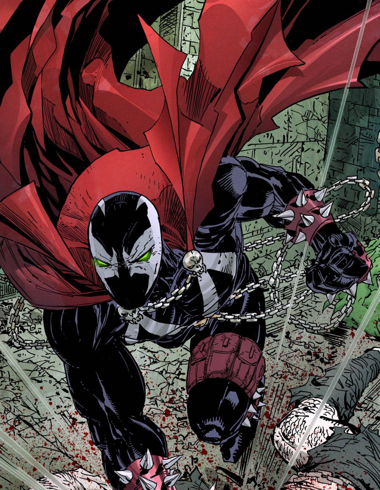 Al Simmons In Spawn #263 2015 - Erik Larsen & Todd