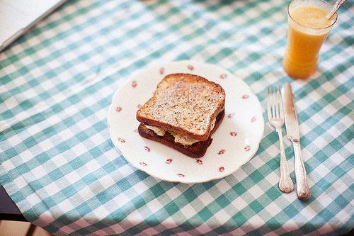 a retrò-style sandwich