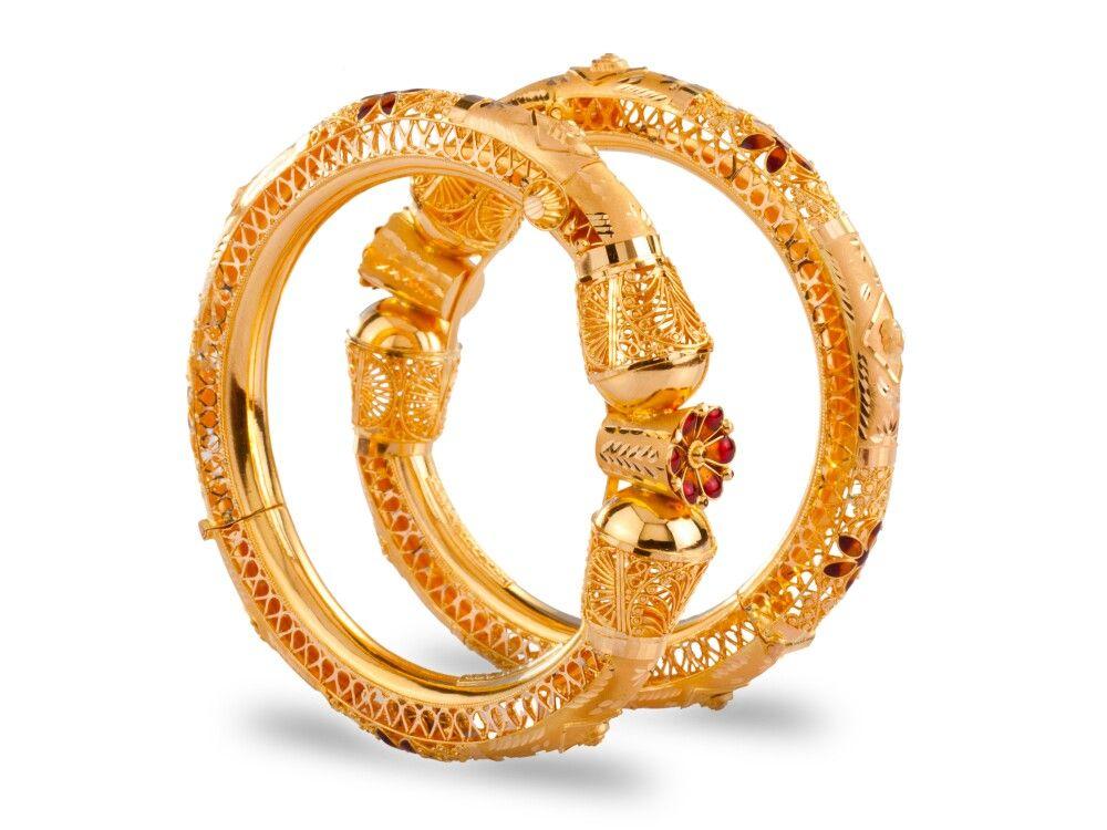 Pin by Vijaya Marella on jewelry | Pinterest | Bangle, Gems and Jewel