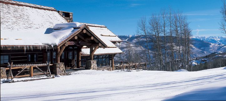 Beaver Creek Weddings: Guest Of Zachu0027s Cabin Arrive By Open Air Sleigh, And  Dine