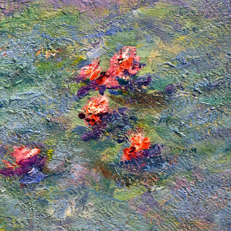 water lilies 1907 detail by claude monet via. Black Bedroom Furniture Sets. Home Design Ideas