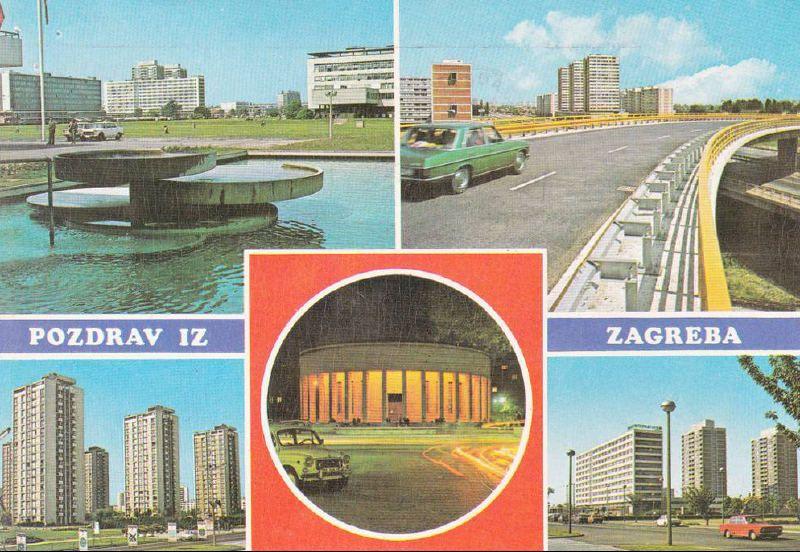 Retro Pozdrav Iz Zagreba Zagrebfacts Zagreb Zg Agram Retrozagreb Retro Postcard Pozdravizzagreba