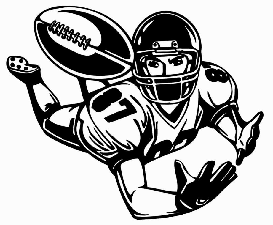 Football Coloring Pages Football Coloring Pages Sports Coloring Pages Custom Football