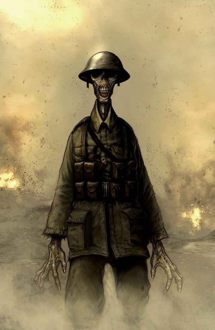 Image result for Savagezombie wwi zombie