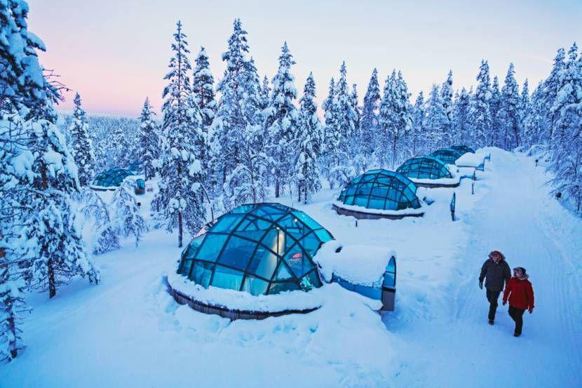 Resort Finland Watch Northern Lights