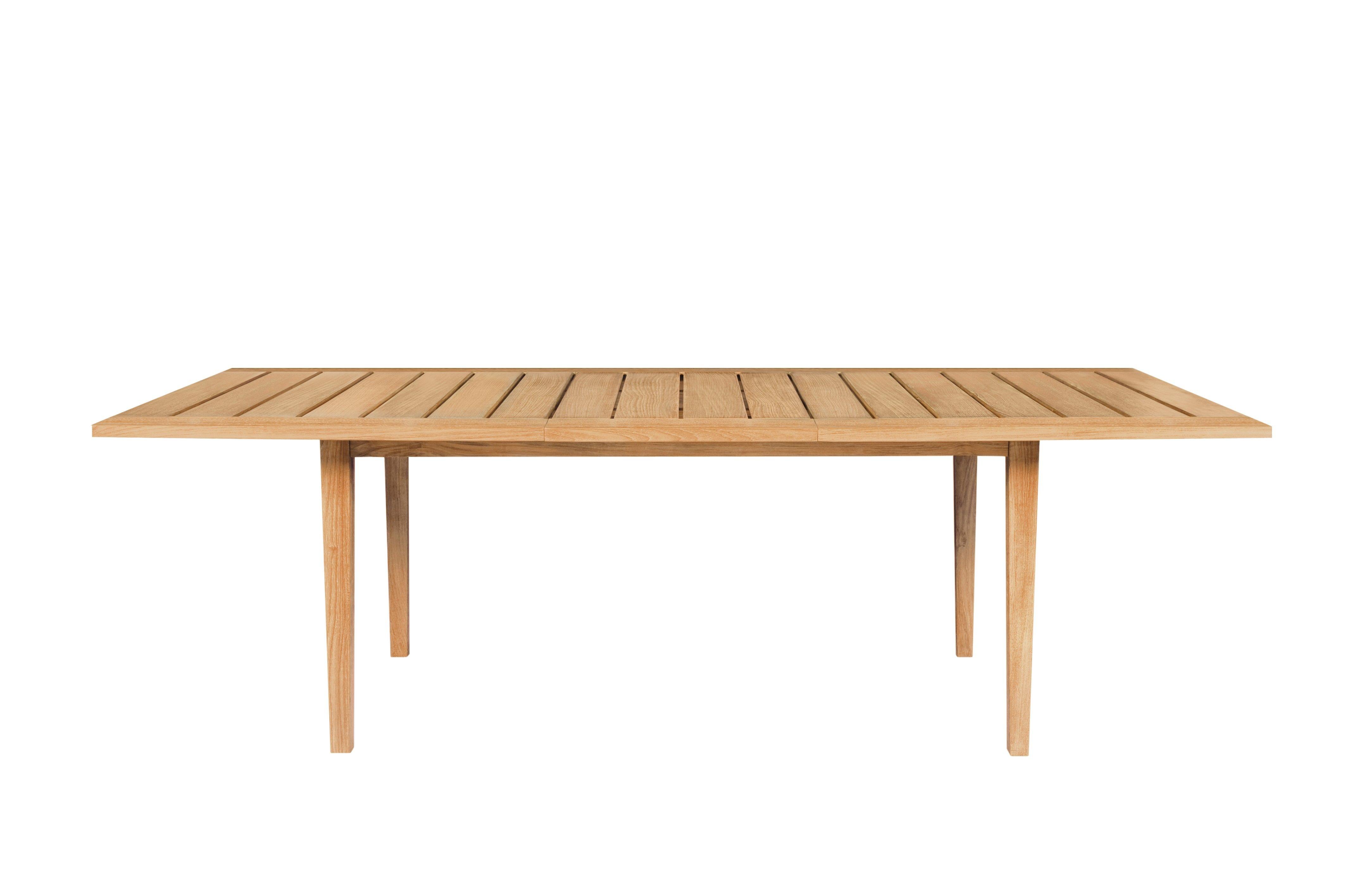 Table Exeter Extensible Tectona En 2020 Table Teck Table De Jardin Pliante Table Et Chaises De Jardin