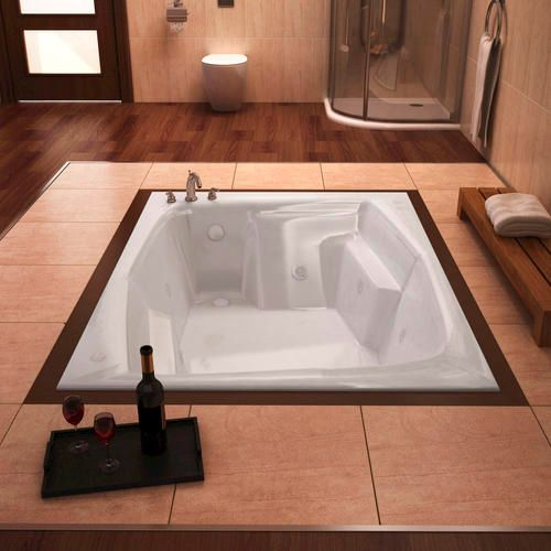 Step In To Luxury With A Beautiful Jetted Bathtub Http Www Menards Com Main Bath Bathing Whirlpools Whirlpool Jetted Bath Tubs Drop In Bathtub Whirlpool Tub