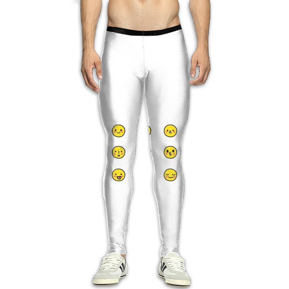 ea479ee0e6 Adults Compression Pants Sports Leggings Tights Baselayer Cute Emoji Yoga Gym  Running Workout Hiking Basketball Fitness For Men Womens >>> Find out more  ...