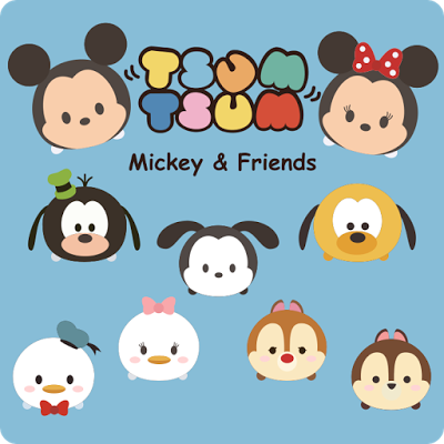 Tsum Tsum Mickey And Friends Fan Art Manualidades Tsum Tsum Peluches Kits Imprimibles