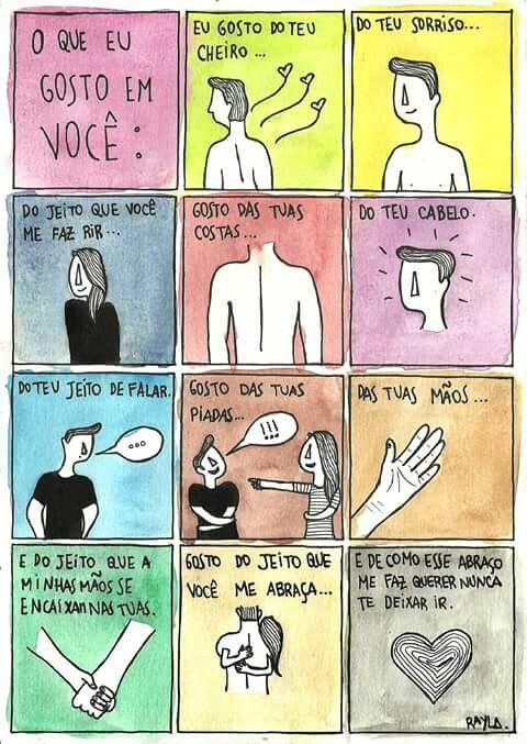 O Que Eu Gosto Em Voce Frases De Amor Namorada Citacoes