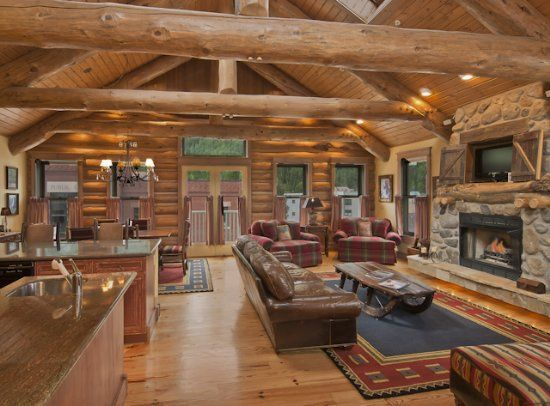 Etonnant Apartment Rental:Telluride Luxury Log Cabin Ski Condo In Colorado    Diamondtooth Welcome To This Very Unique Luxury Vacation Home With Log Cabin  Themes And ...