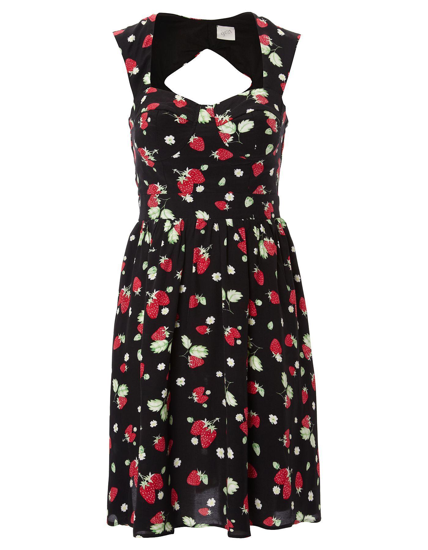 Black sandals asda - G21 Strawberry Dress Women George At Asda