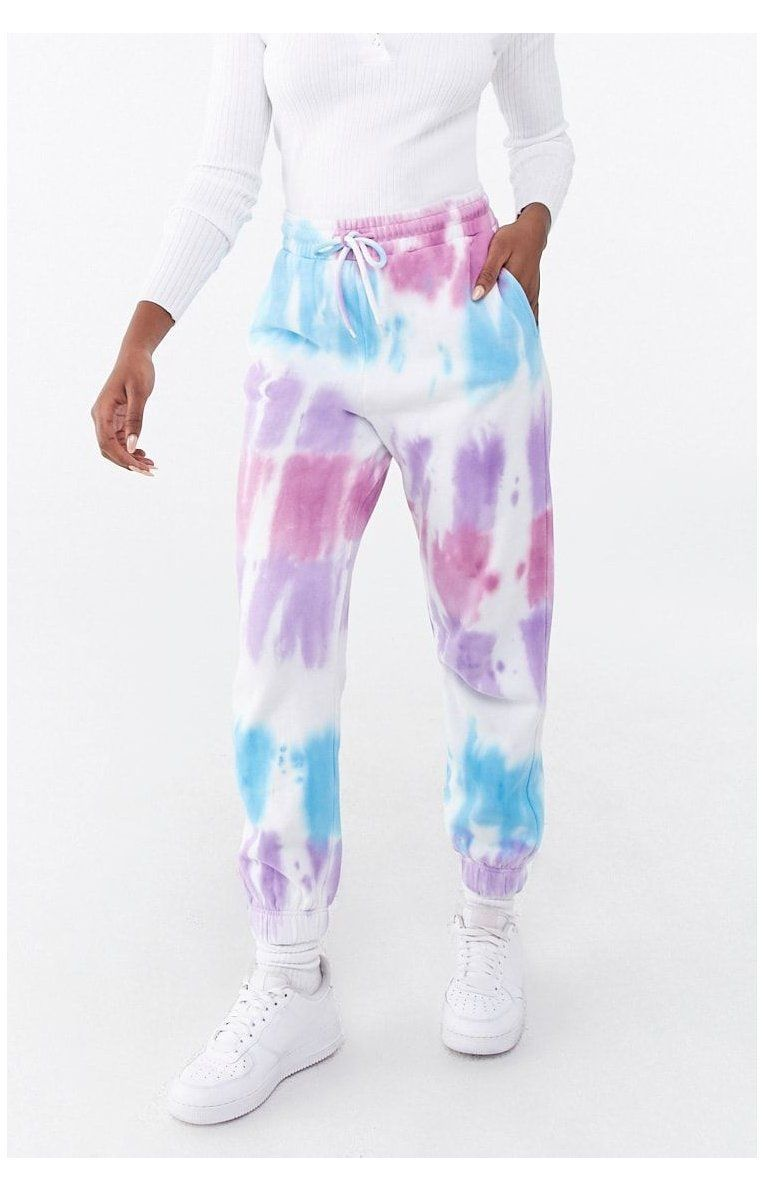 Shop Forever 21 For The Latest Trends And The Best Deals Fleece Tie Dye Joggers Forever 21 Batik Paint Can Be Tie Dye Outfits Tie Dye Pants Tie Dye Shirts [ 1191 x 764 Pixel ]