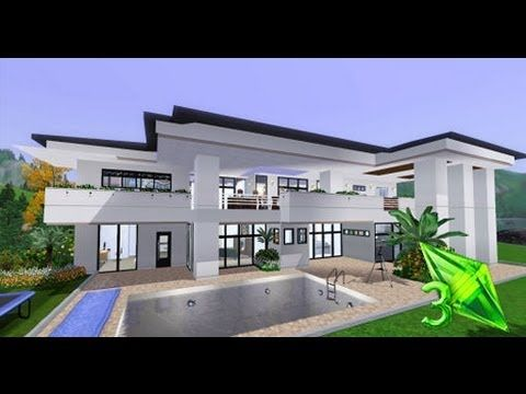 Pin By Melani Wright On Sims 3 Sims House Sims House Plans House Design