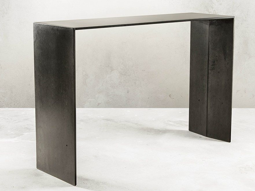 SIMPLE | Concrete Console Table By MALHERBE EDITION Design Antoine Courtiol