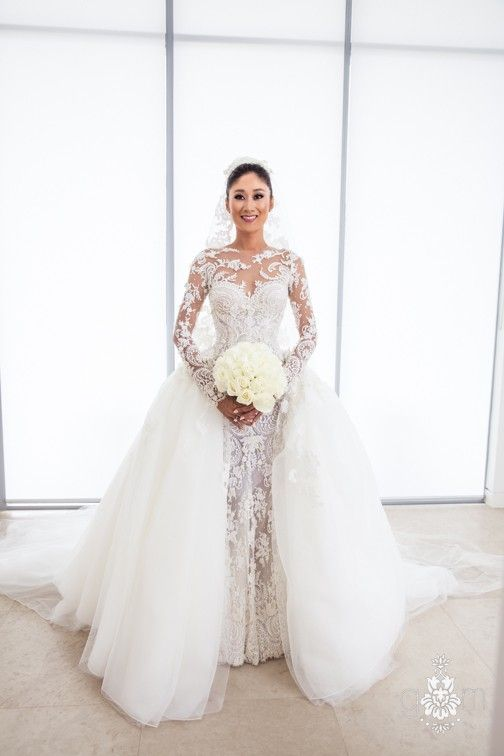 Steven Khalil Custom Made Bridal Gown Wedding Dress | I DO ...