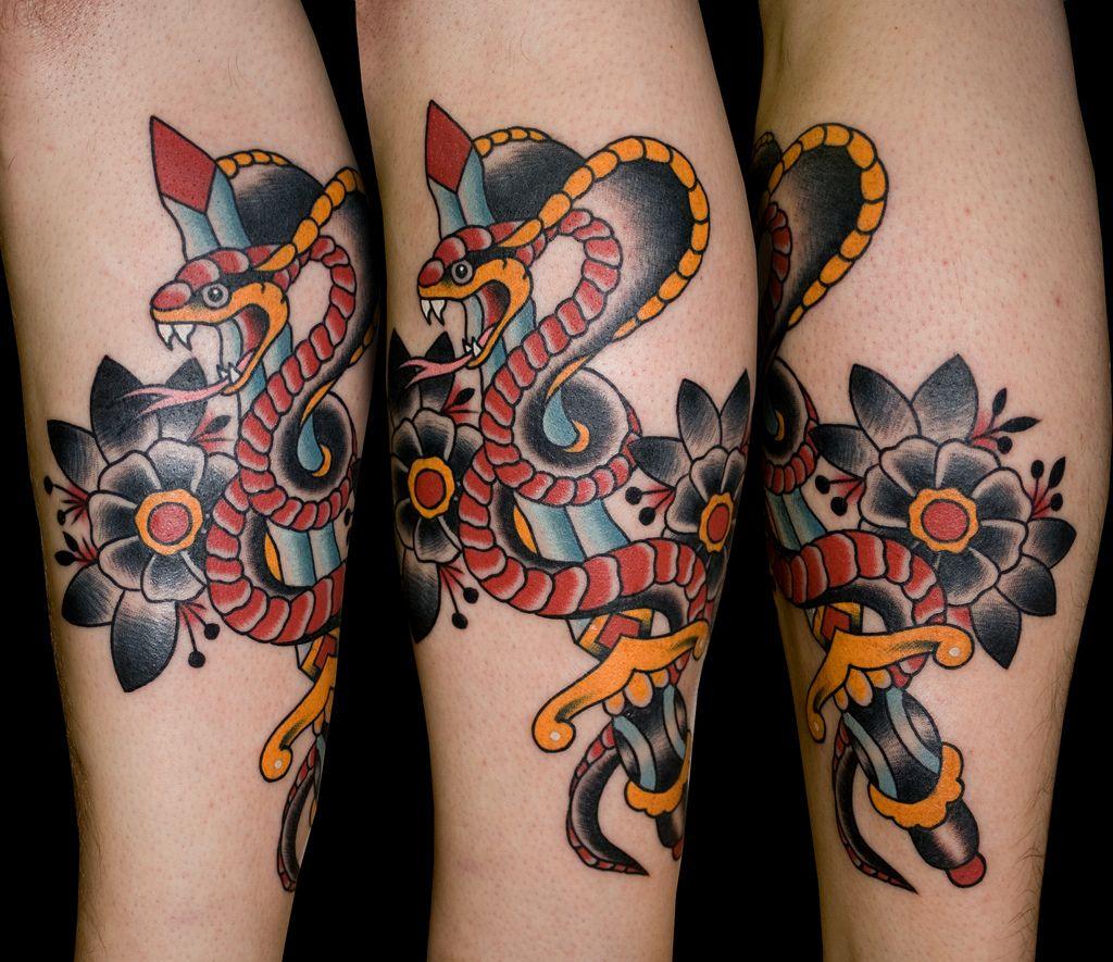 aa95f913f0fb33 cobra dagger tattoo myke chambers