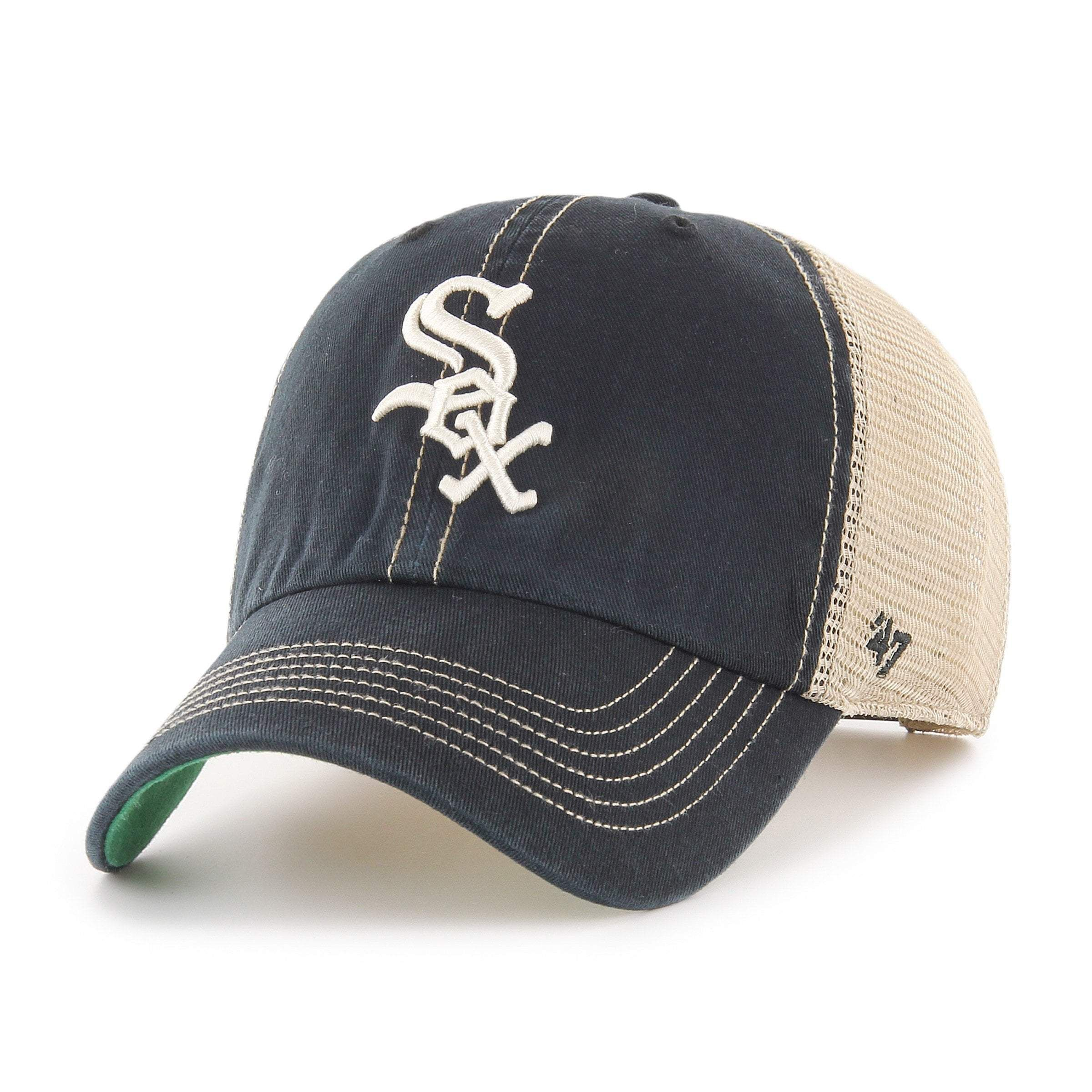 47 Brand Relaxed Fit CAP-Clean Up Chicago White Sox Navy