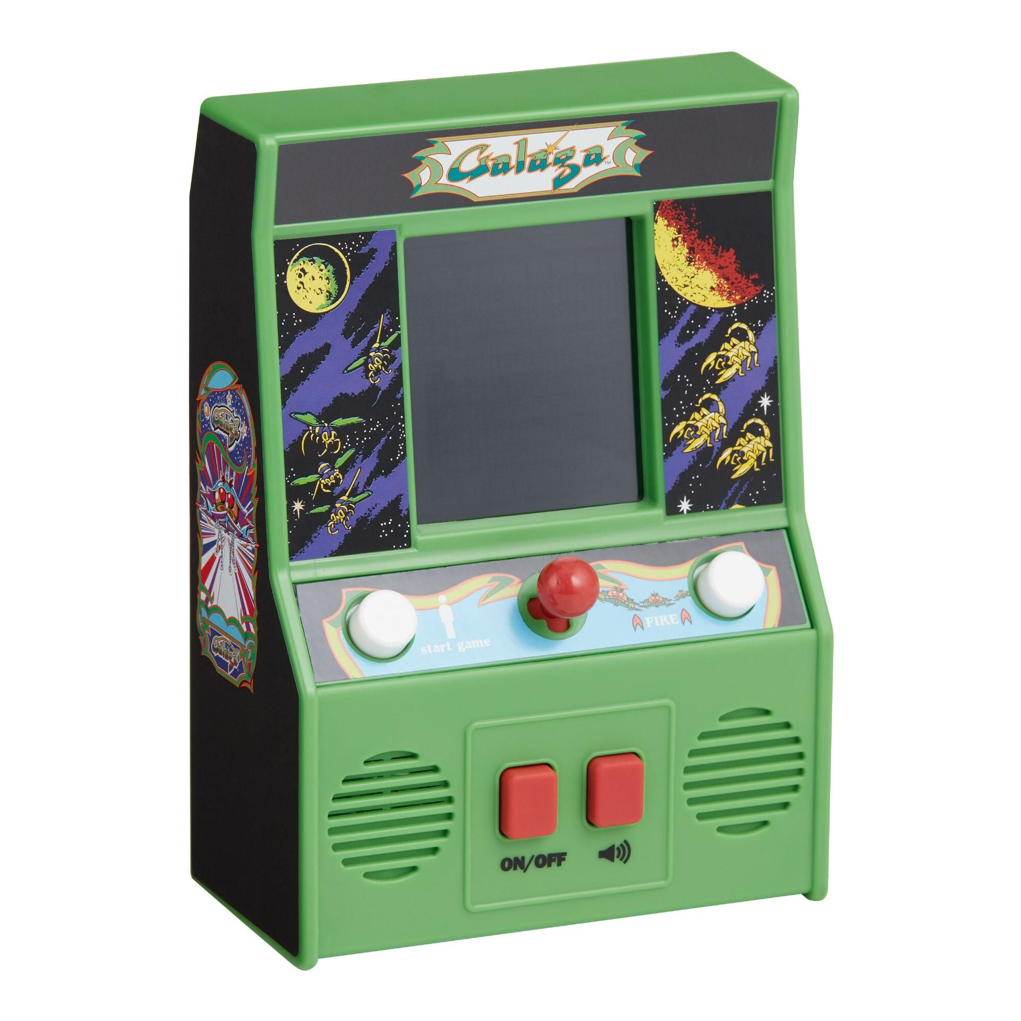Galaga Handheld Arcade Game by World Market Arcade games