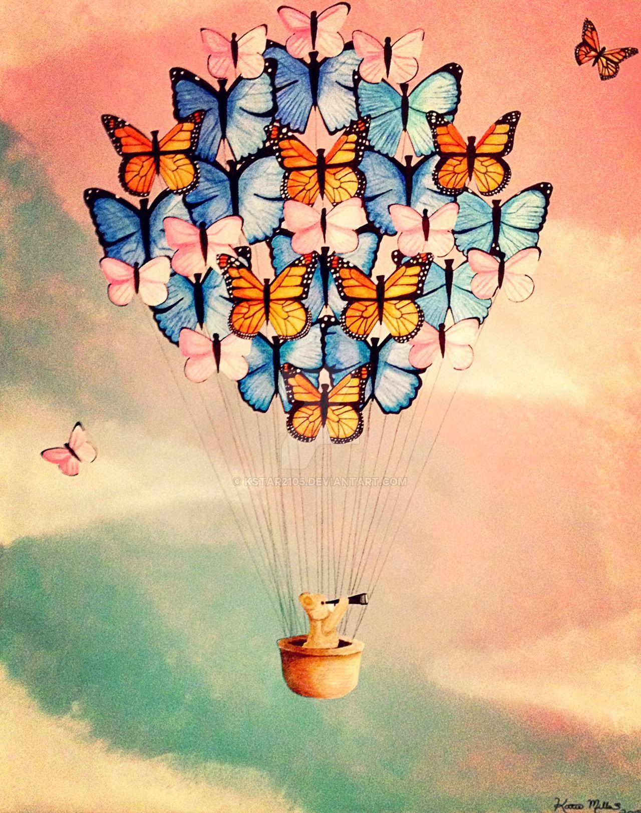 Butterfly Balloon By Kstar2105