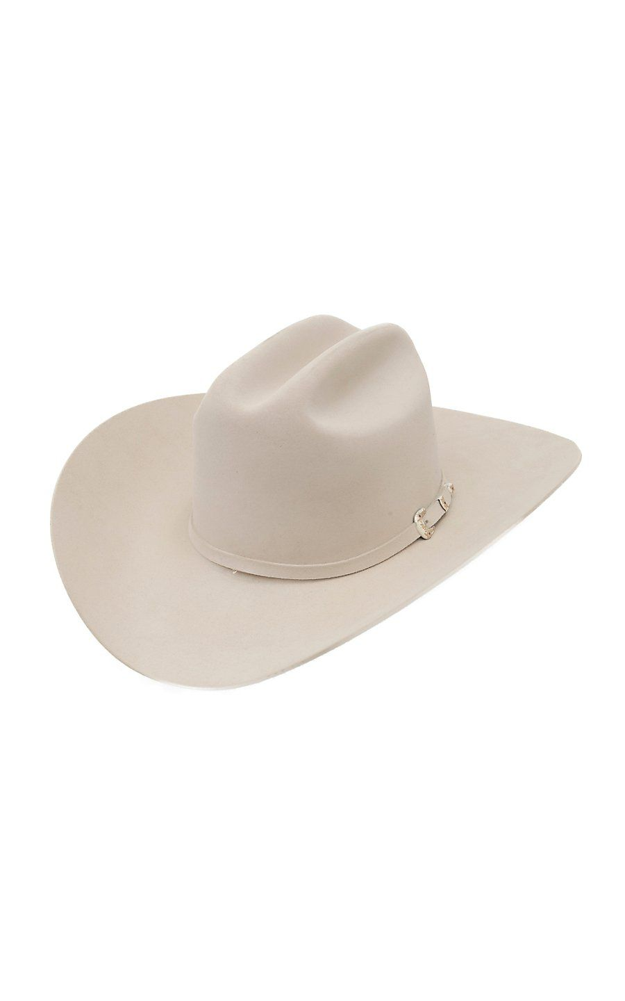 Stetson 30X El Patron Silver Belly Felt Cowboy Hat in 2019  f01272016be