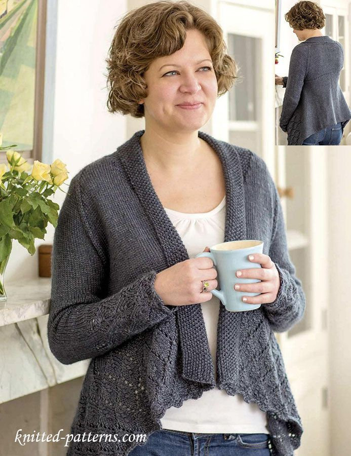Cardigan knitting pattern free | Knitting pattern | Pinterest ...