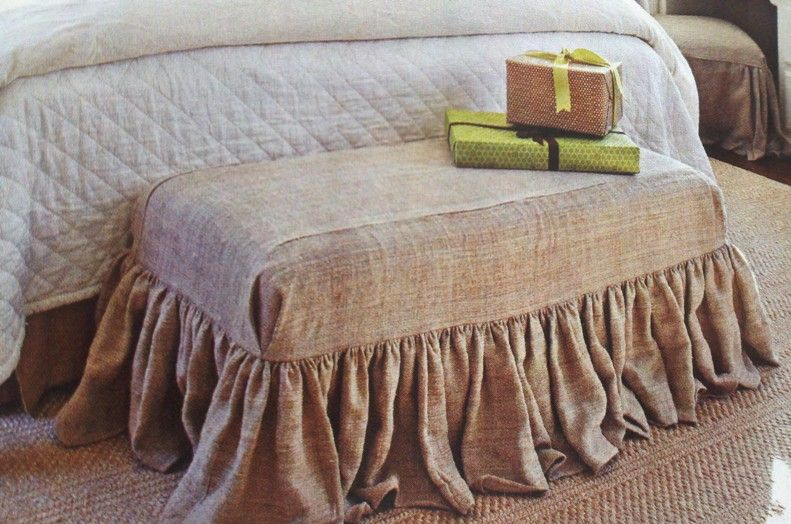 Bedroom Luggage Bench